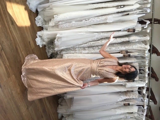 Vow Bridal Gallery, Goddess by Nature, Sequin Multiwrap Dress, Peterborough, Wansford, Stamford
