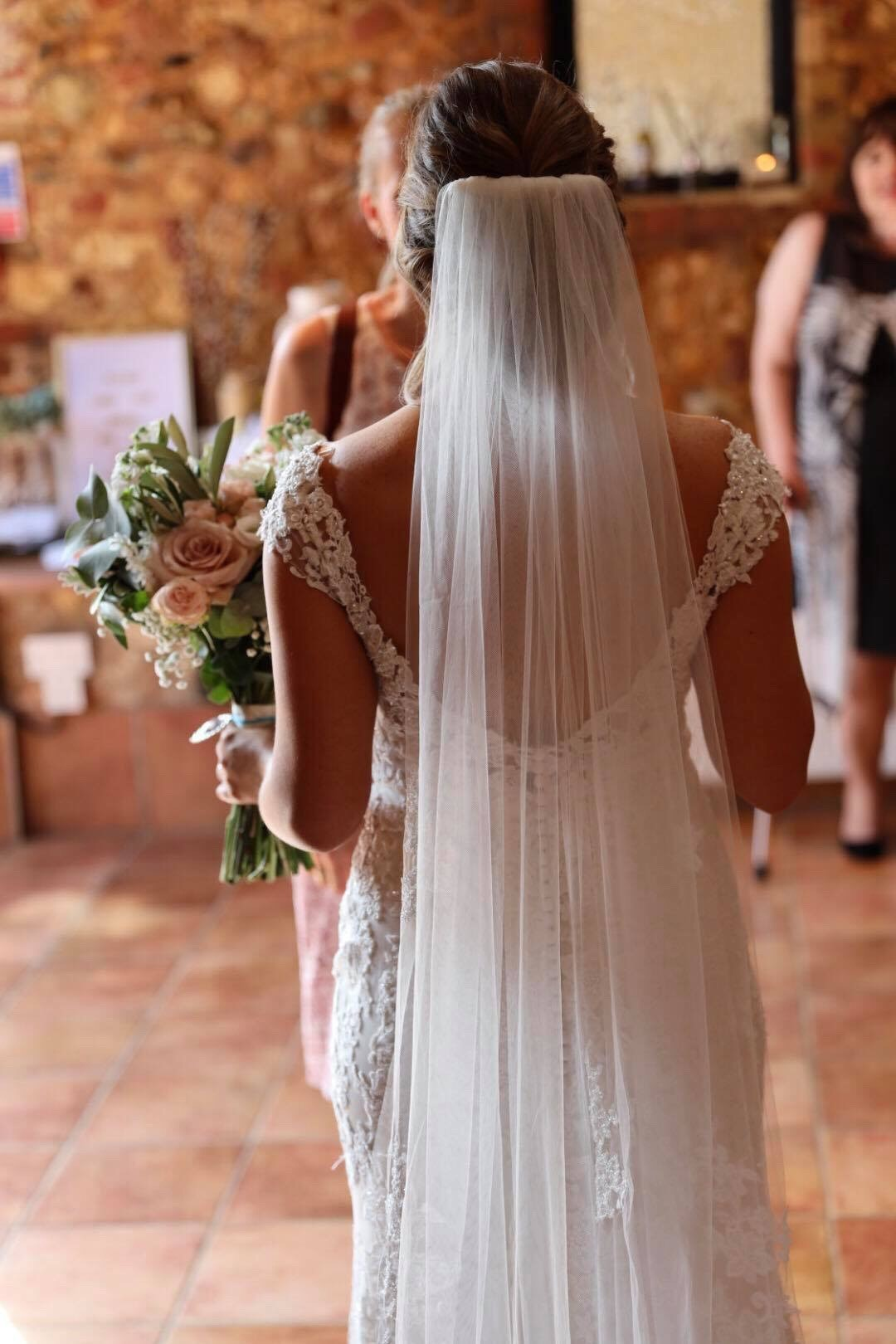 Katie v back of dress