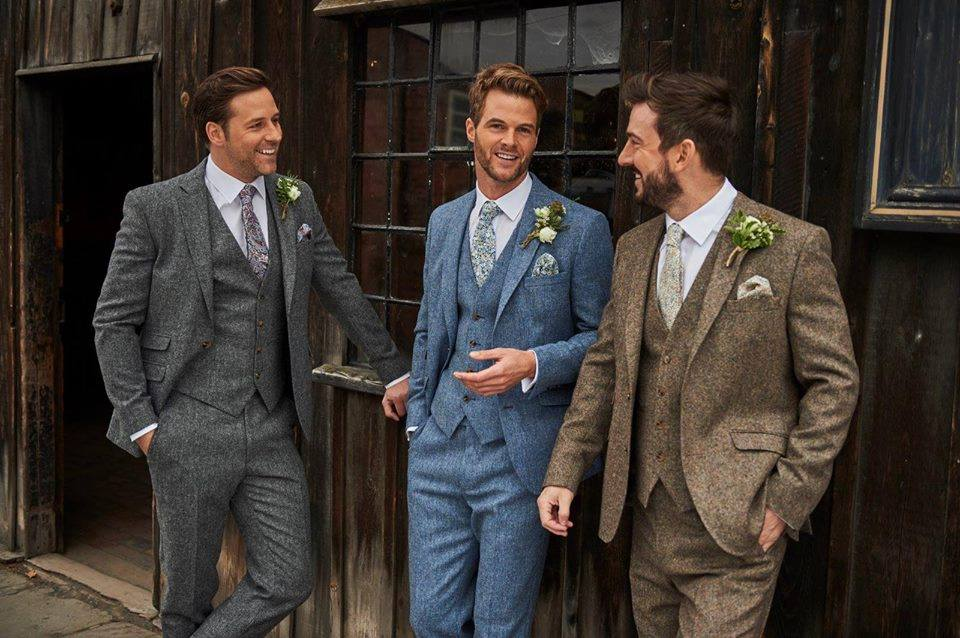 Mens Tweed Wedding Suit Hire, Peterborough, Cambridgeshire