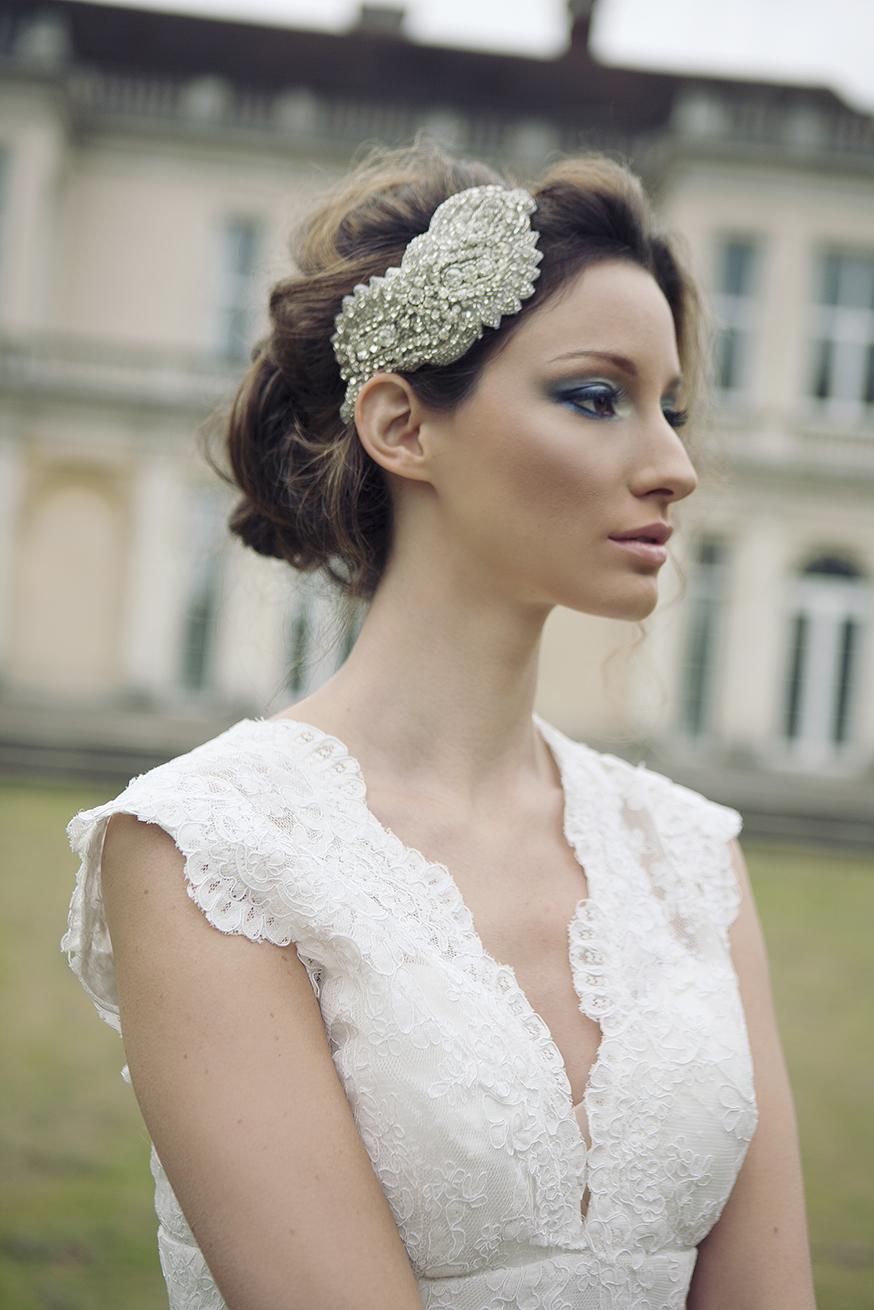 Vow Bridal Gallery, Bridal Accessories, Peterborough, Stamford, Cambridgeshire, Oundle, Flo & Percy, Rock Baroque Headband