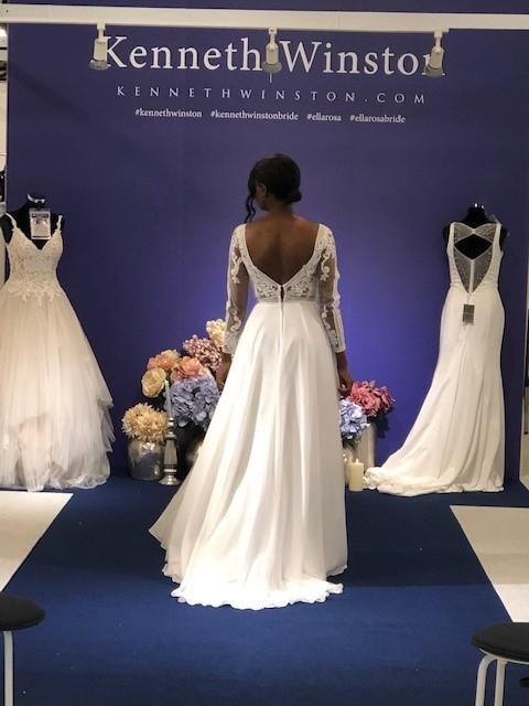 Kenneth Winston Plain Style Dress
